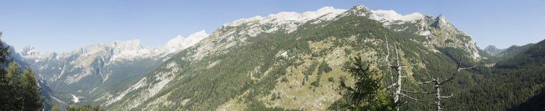 Slovenian national park Stock Images