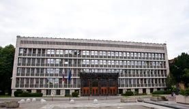 Slovenian Parliament Stock Photography