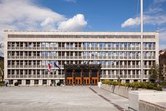 Slovenian Parliament building Royalty Free Stock Image