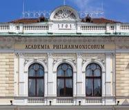 Slovenian Philharmonic Hall in Ljubljana Stock Images
