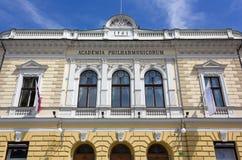 Slovenian Philharmonic Hall in Ljubljana Stock Photography