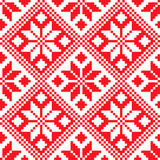 Slovenian Traditional Pattern Ornament. Seamless Background Royalty Free Stock Photos