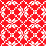 Slovenian Traditional Pattern Ornament. Seamless Background Royalty Free Stock Photo
