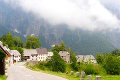 Slovenian village Royalty Free Stock Image