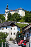 Slovenian village Royalty Free Stock Images