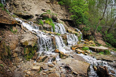 Slovenian water springs in Izborsk Royalty Free Stock Photos