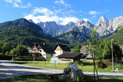 Slovenien góry zdjęcia stock