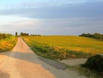 Sloveno Istra di Capodistria - fare un'escursione e ciclismo Fotografia Stock
