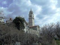 Sloveno Istra di Capodistria - fare un'escursione e ciclismo Fotografia Stock Libera da Diritti