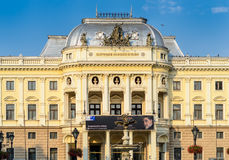 Slovenské Naródné Divadlo Stock Photography