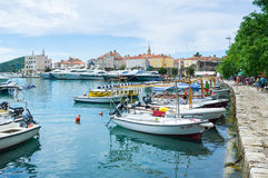 The Slovenska Obala Royalty Free Stock Photography