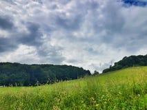 Slovenskt landskap royaltyfria foton