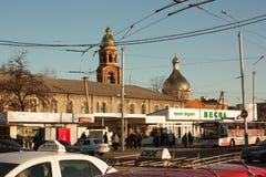Sloviansk ( translit Slavyansk) - stad av oblastsignifikans i Donetsk Oblast, Ukraina 15 03 2016 Royaltyfri Bild