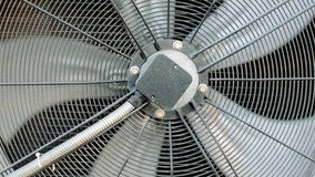 Slow Air Conditioning Fan stock video