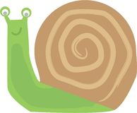 Slow As Snail Royalty Free Stock Image