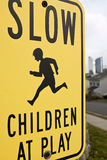 Slow children at play Stock Images