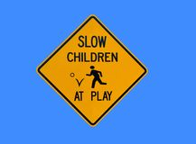 Slow Children at Play Stock Photos