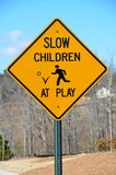 Slow children at play Royalty Free Stock Image