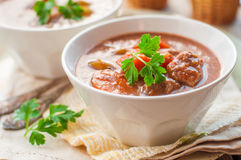 Slow Cooked Beef Stew with Vegetables Stock Photography
