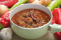 Slow cooked meat stew Royalty Free Stock Image