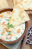 Slow Cooker Chicken Pot Pie Royalty Free Stock Images