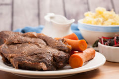 slow cooker pot roast Royalty Free Stock Photography
