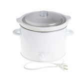 Slow cooker unit. Royalty Free Stock Images