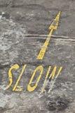 Slow down Fotografia de Stock Royalty Free