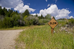 Slow down Fotos de Stock