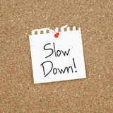 Slow down Fotografia de Stock