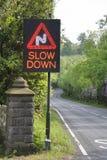Slow Down Imagem de Stock Royalty Free