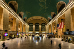 Slow exposure of main hall Grand Central Terminal Royalty Free Stock Images