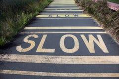 Slow lane Stock Image