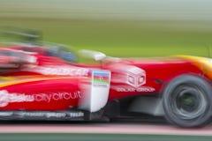 Slow motion car. Euroformula Open Stock Photos