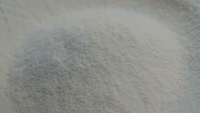 Slow motion of falling flour stock footage food. Cooking falling kitchen slow motion stock video