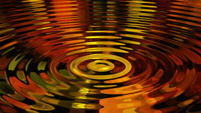 Slow motion ripples on surface of water stock footage
