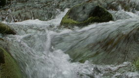 Slow Motion Water, Stream, Brook - Clip 7 stock video