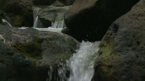 Slow Motion Water, Stream, Brook - Clip 4 stock footage