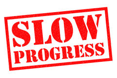 SLOW PROGRESS Royalty Free Stock Image