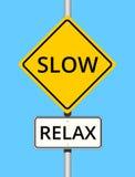 Slow Relax Stock Photo