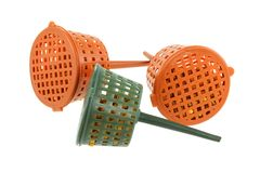 Slow-release Fertilizer Baskets Royalty Free Stock Image