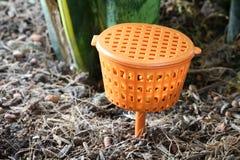 Slow-release Fertilizer Baskets Stock Image