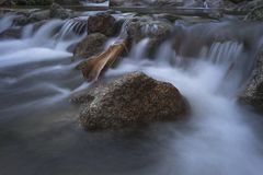 Slow Shutter Image of River Royalty Free Stock Image
