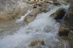 Slow Shutter Image of River Stock Image