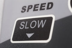 Slow sign Royalty Free Stock Photos