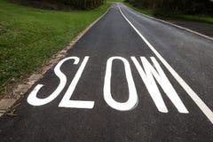 Slow Stock Image