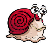 Slow snail Royalty Free Stock Photo