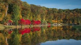 Changing  seasons.   Ukraine, Kyiv. `Feofania` park.