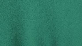 Slow waving green blank fabric material stock video
