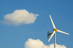 Slow Wind Turbine Royalty Free Stock Photos